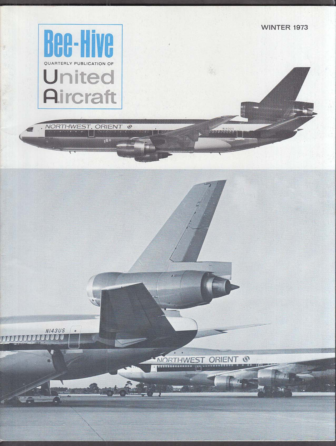 BEE-HIVE Douglas DC-10 Sikorsky Lufthansa United Aircraft Winter 1973