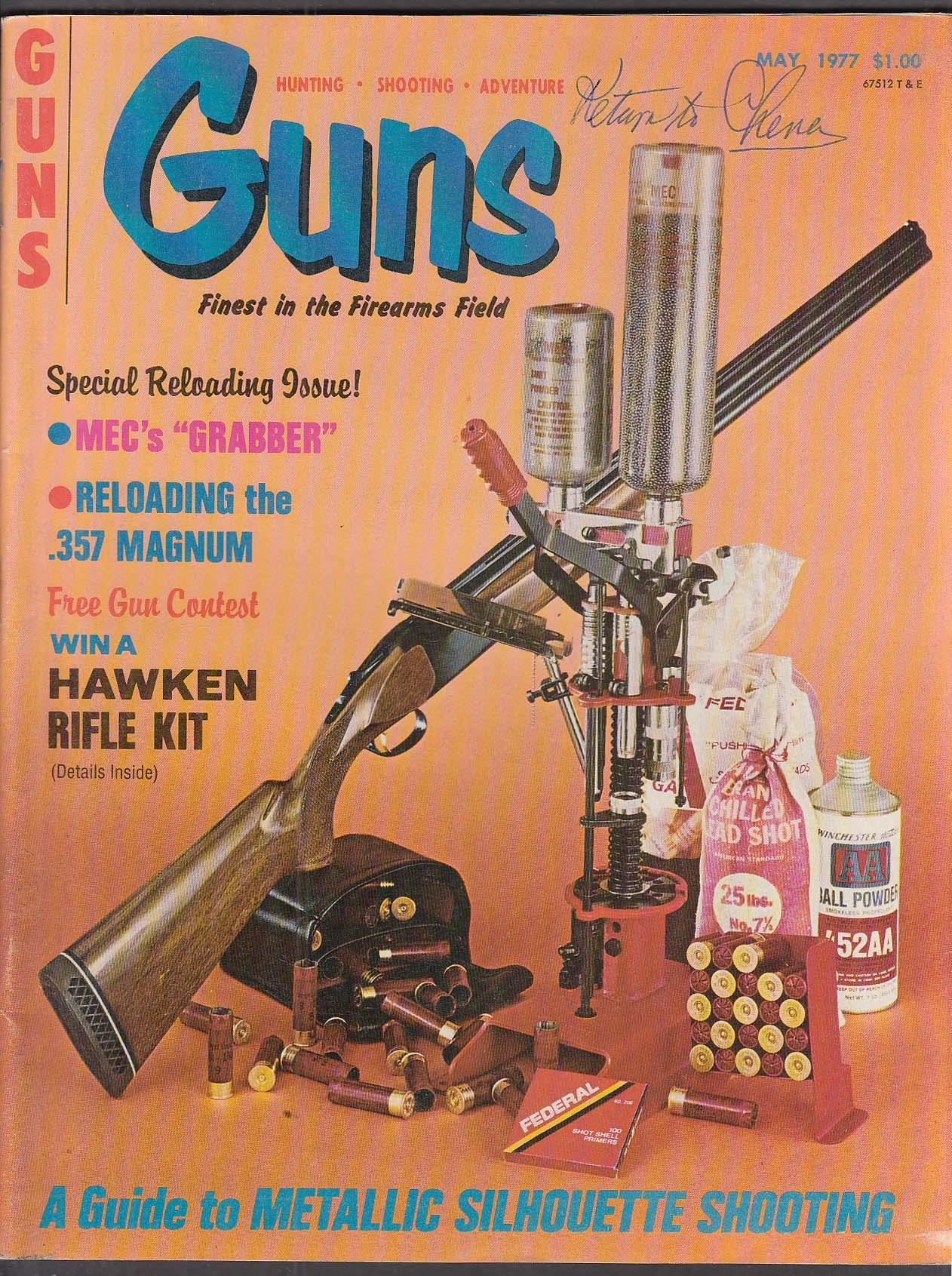 GUNS Savage 2400 O/U Silueta Mettalica Gabilondo / Llama Steger ++ 5 1977