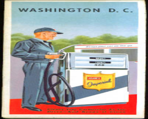 1962 Atlantic Refining Washington DC roadmap
