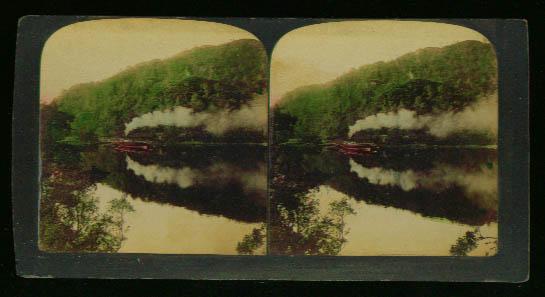 Steamship Loch Katrine Scotland 1898 stereoview