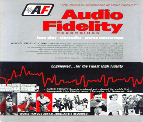 1957 Audio Fidelity Record Catalog