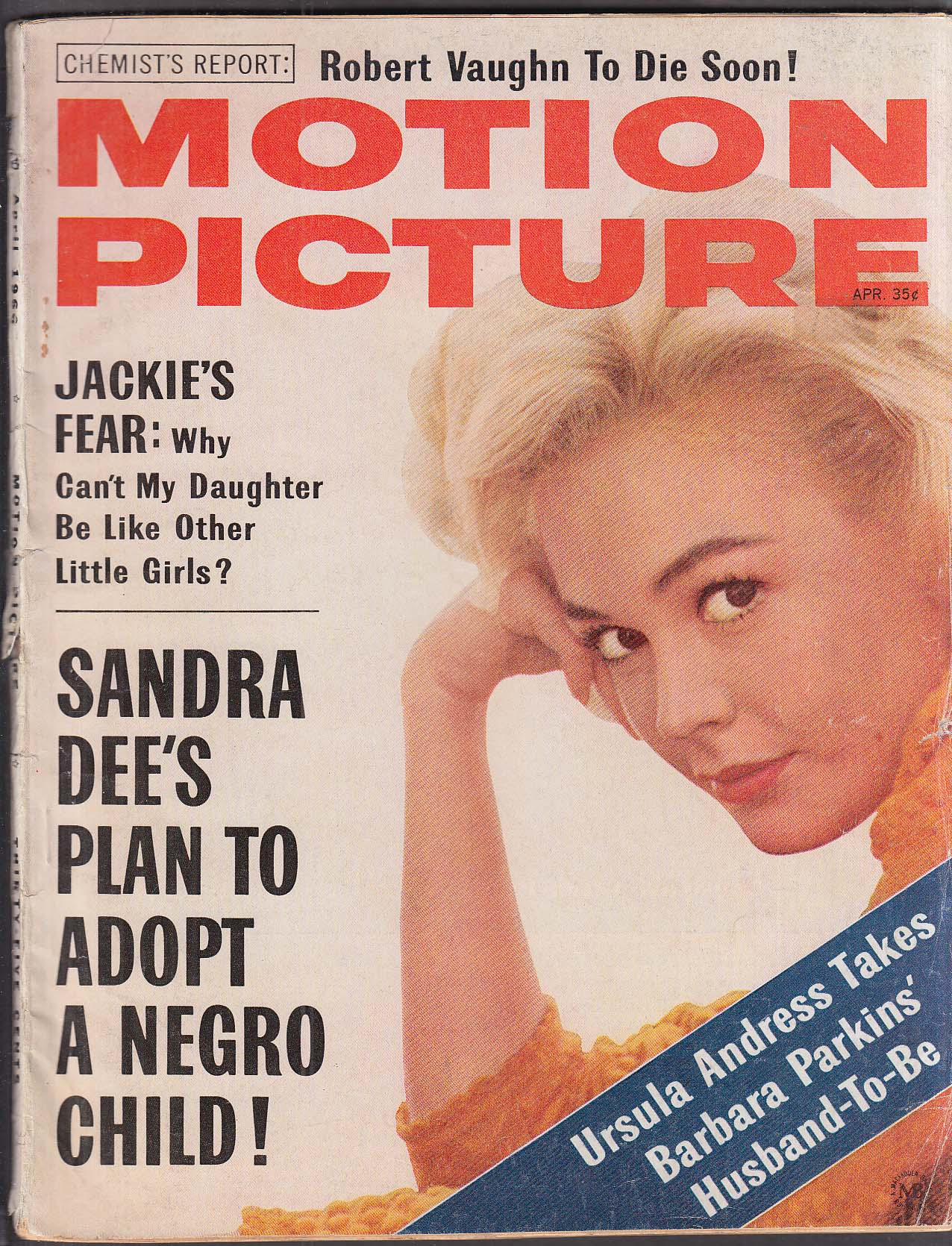 MOTION PICTURE Sandra Dee Jackie O Robert Vaughn 4 1966