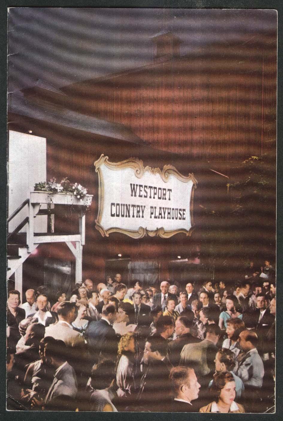 Lillian & Dorothy Gish The Chalk Garden program Westport Playhouse 1956