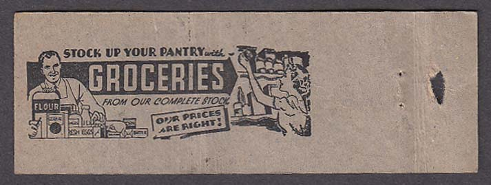Image for Winer Stores 175 West Main St Norwich CT Dairy & Groceries matchcover