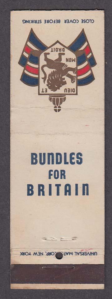 Image for Bundles for Britain Dieu Et Mon Droit matchcover