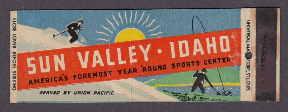 Image for Sun Valley Idaho America's Foremost Year Round Sports Center matchcover