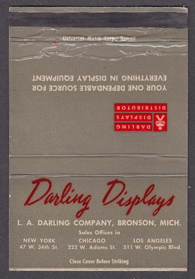 Darling Displays L A Darling Company Bronson MI matchcover