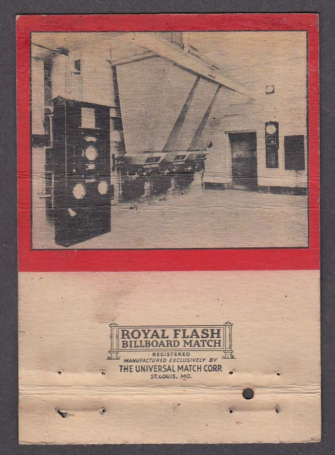 Firite Stokers Hoffman Combustion Engineering Co Detroit matchcover