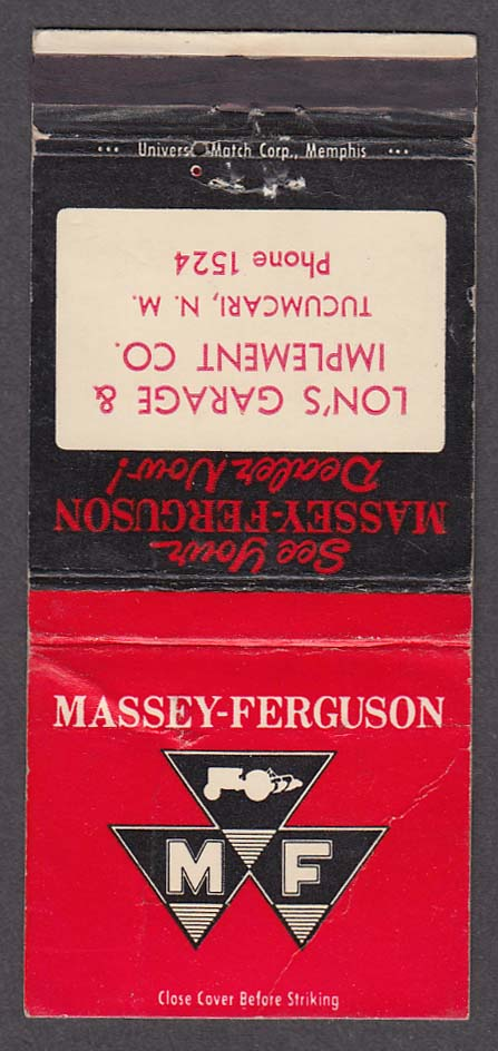 Massey-Ferguson Tractors Lon's Garage & Implement Co Tucumcari NM atchcover