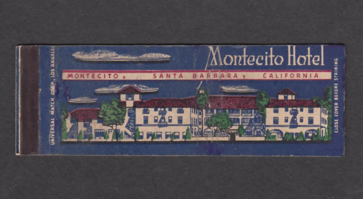 Image for Montecito Hotel Santa Barbara CA matchcover