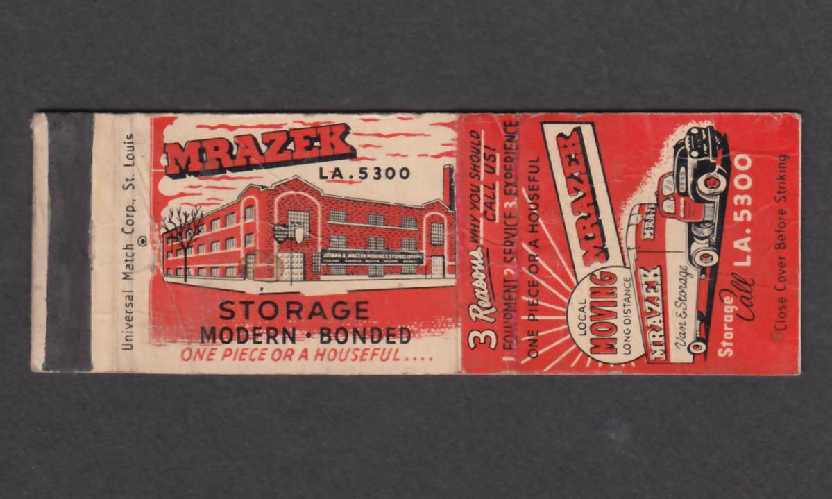 Image for Mrazek Van & Storage matchcover