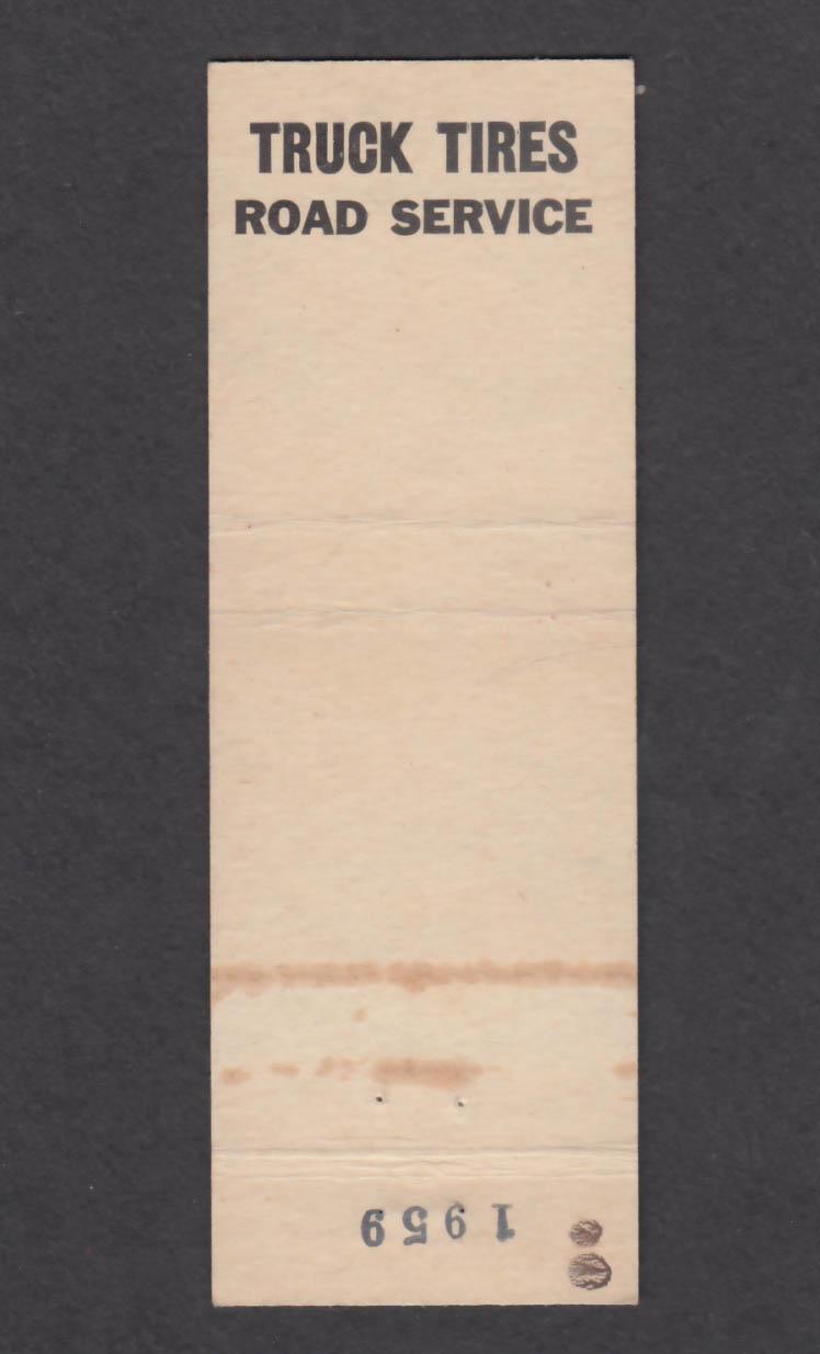 Image for OK Rubber Welders East Valley Hiway Earlington Renton WA matchcover