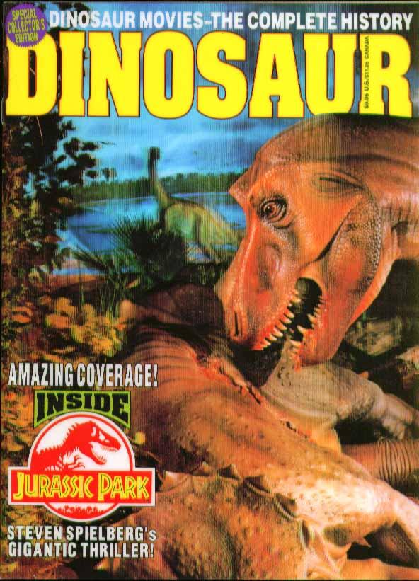 DINOSAUR Jurassic Park Steven Spielberg Ray Harryhausen Starlog Special 1993