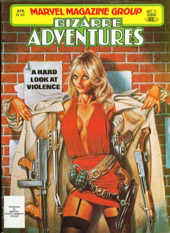 Marvel Comics Bizarre Adventures #31 4/82
