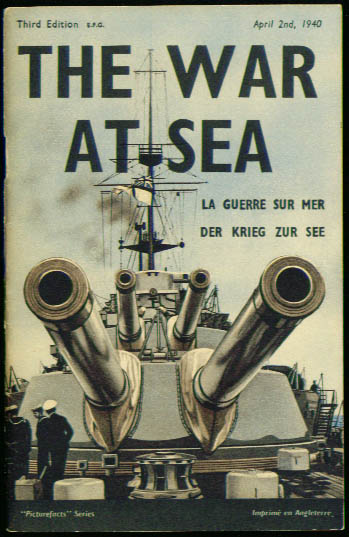 Image for The War at Sea 4/2/1940 3rd edition