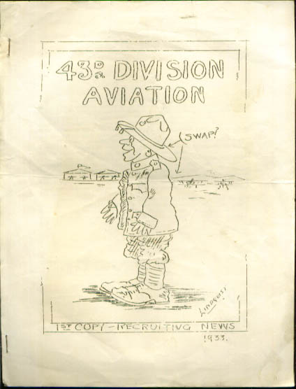43rd Division Aviation newsletter 1933