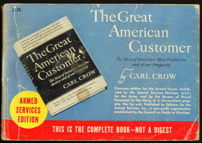 ASE 1126 Carl Crow: The Great American Customer