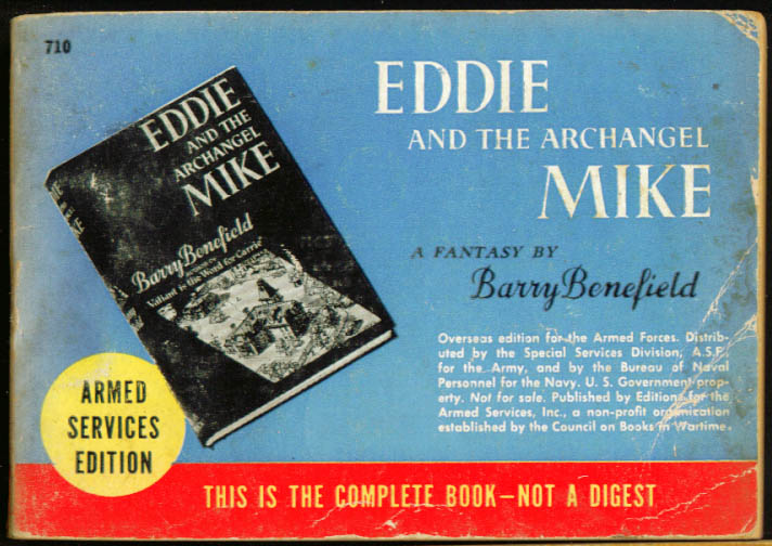 ASE 710 Barry Benefield: Eddie & the Archangel Mike