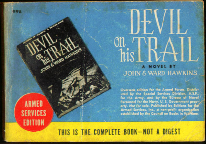 ASE 998 John & Ward Hawkins: Devil on His Trail