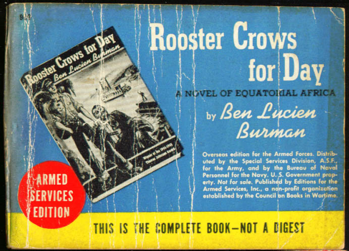 ASE 999 Ben Lucien Burman: Rooster Crows for Day