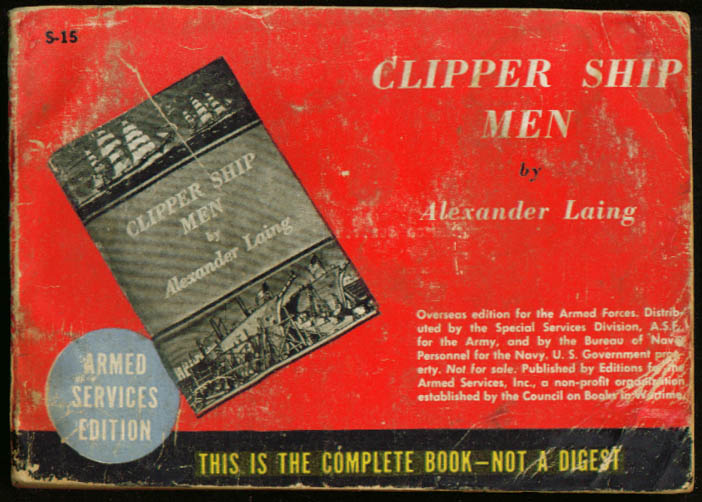 ASE S-15 Alexander Laing: Clipper Ship Men