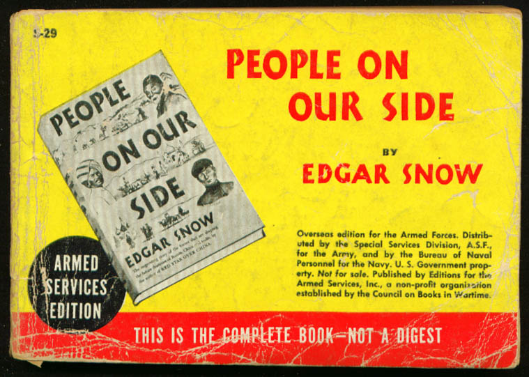 ASE S-29 Edgar Snow: People On Our Side
