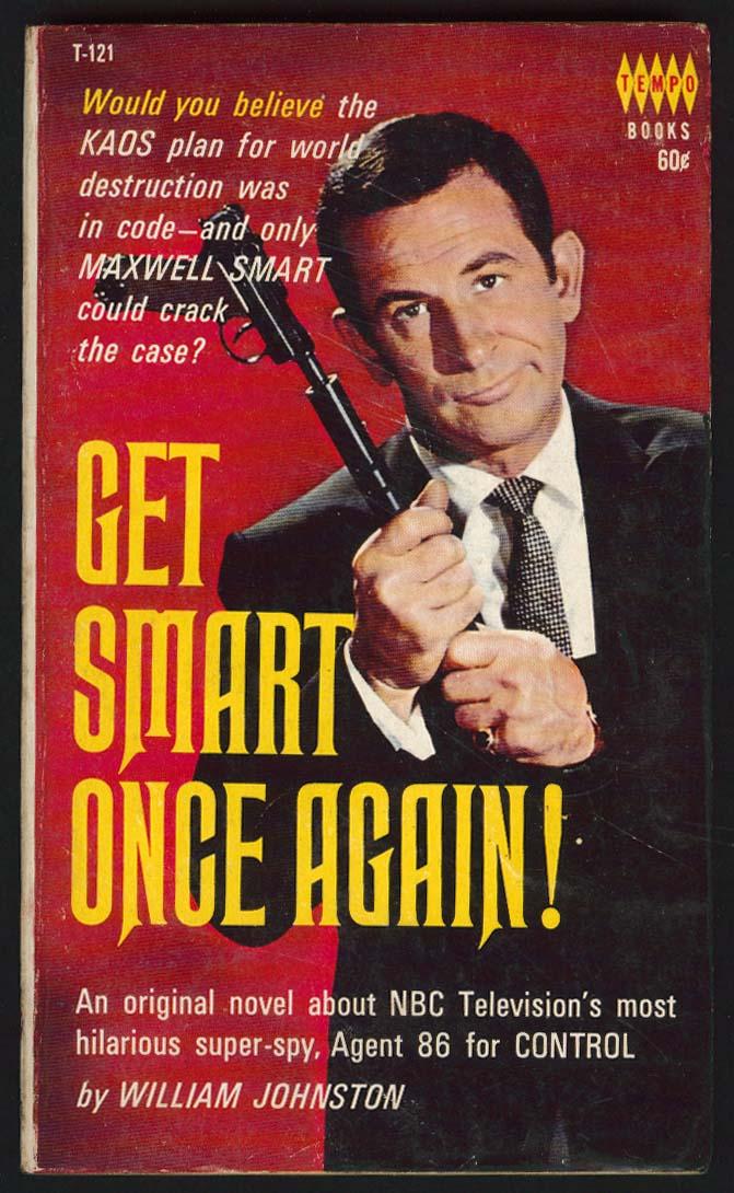 William Johnston: Get Smart Once Again! TV tie-in pb 1966 Don Adams