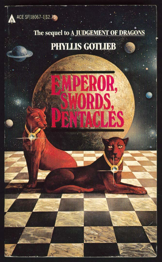 Phyllis Gotlieb: Emperor, Swords, Pentacles PBO 1st ed 1982 sci-fi