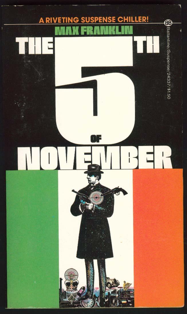 Max Franklin: The 5th of November movie tie-in pb 1st ed 1975