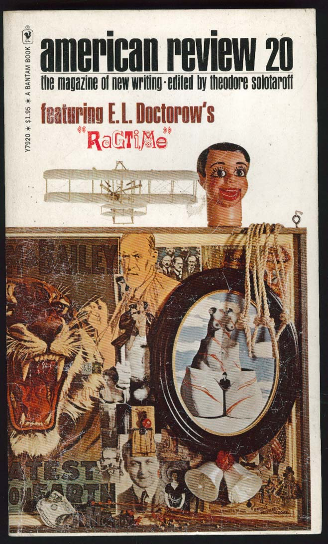 American Review 20 Doctorow Hawkes Handke Kizer 1st ed 1974