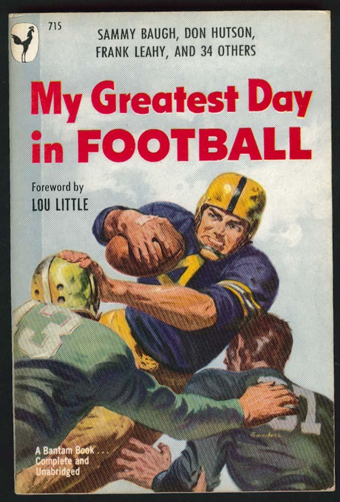 Murray Goldman Leonard Lewin: My Greatest Day in Football 1st pb ed 1949
