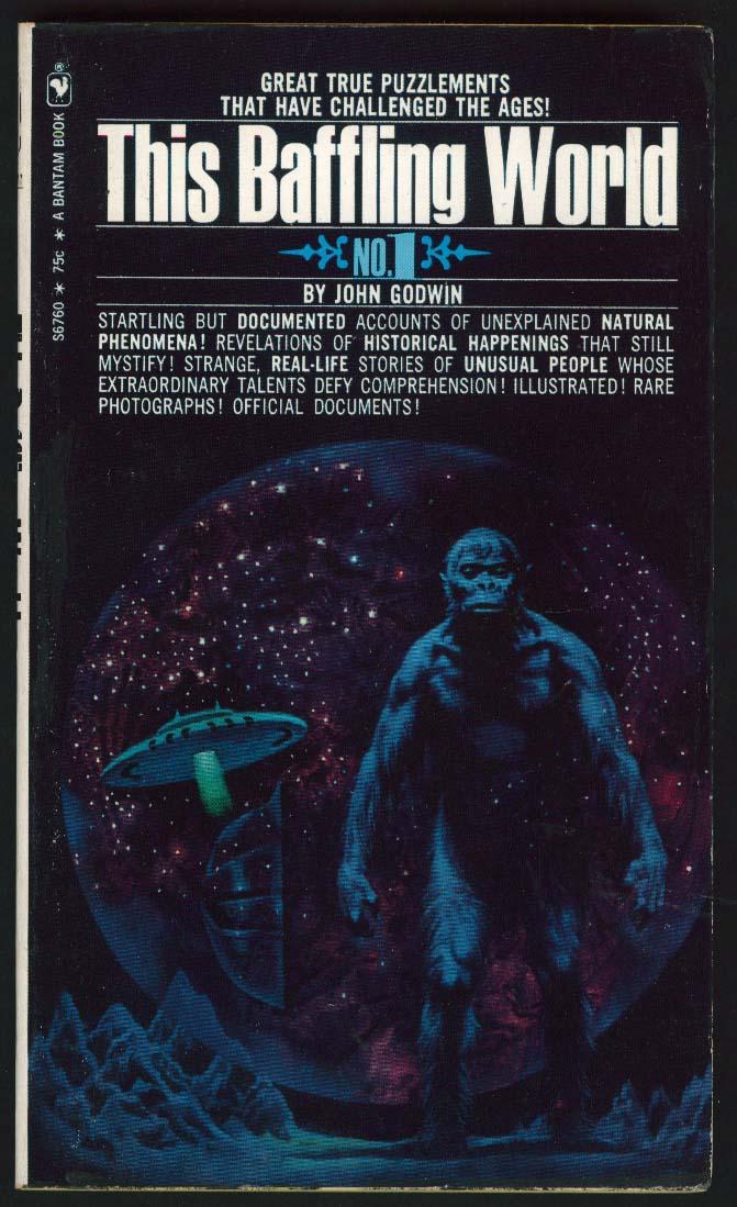 John Godwin: This Baffling World 1st pb ed 1971 sci-fi