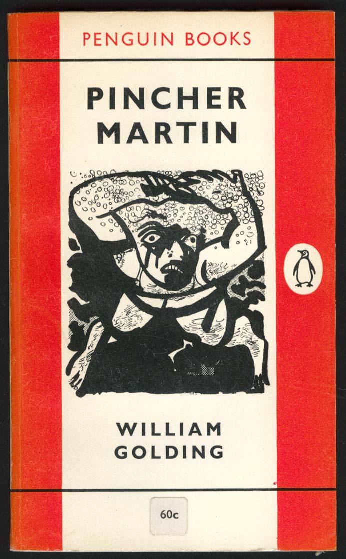 William Golding: Pincher Martin 1st pb ed 1962