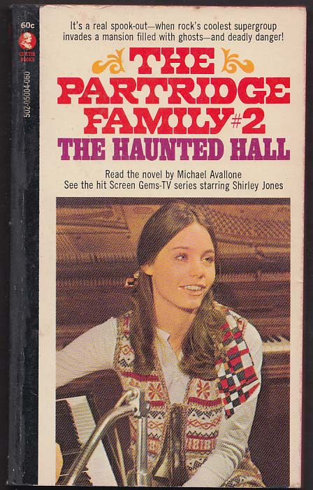 Michael Avallone: Partridge Family #2 TV tie-in pb 1970 Shirley Jones