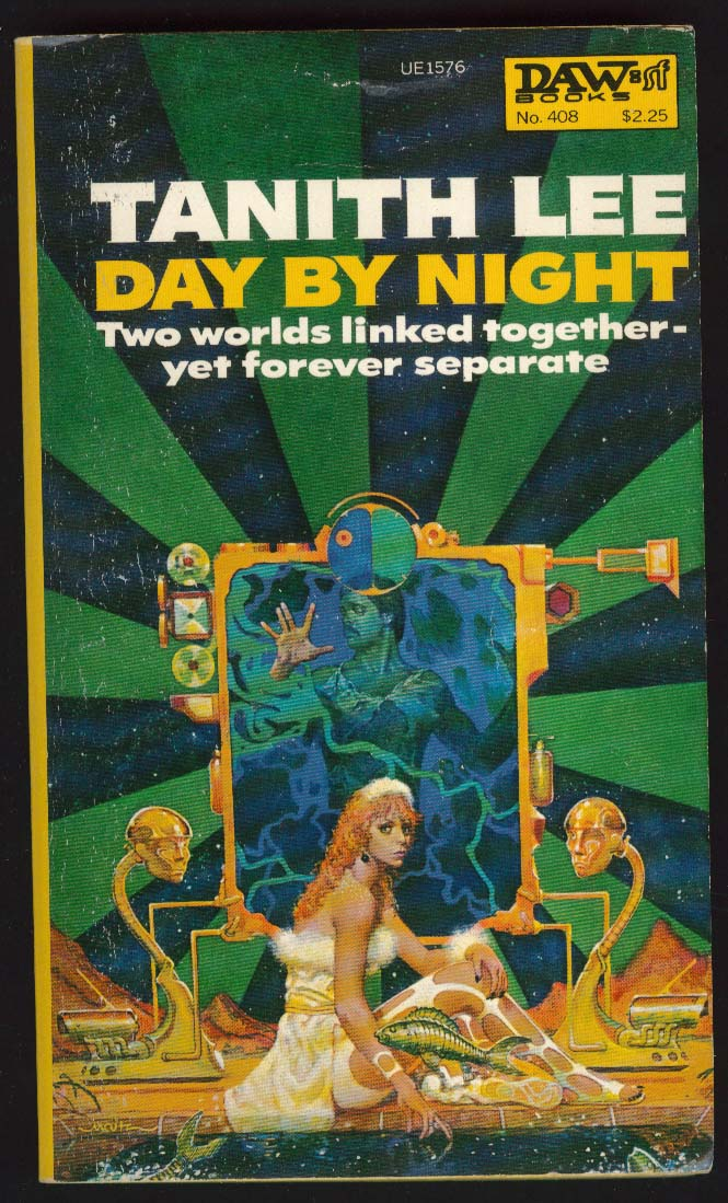 Tanith Lee: Day by Night PBO 1st ed 1980 Don Maitz