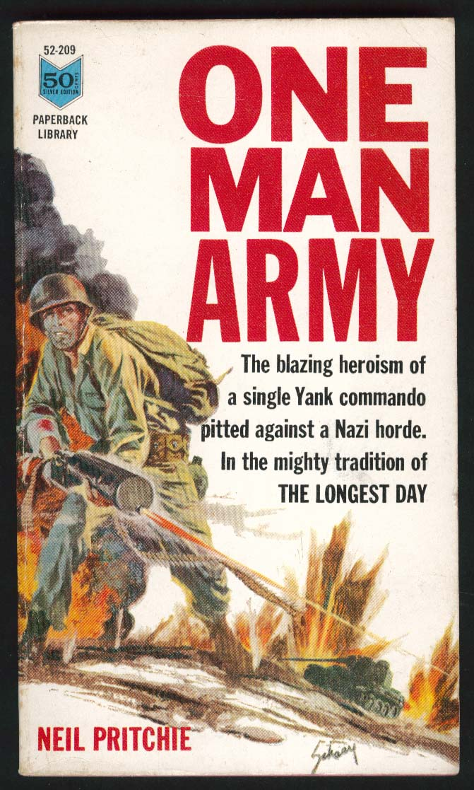 Neil Pritchie: One Man Army PBO 1st ed 1963