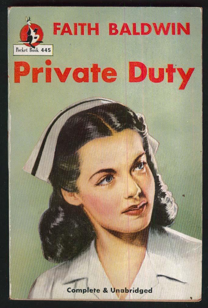 Baldwin: Private Duty 1st pb ed 1947 GGA