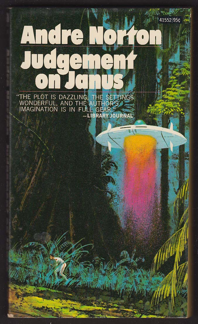 Andre Norton: Judgement on Janus PBO 1st 1963 sci-fi