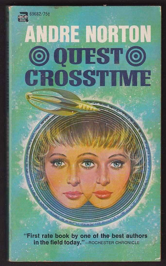 Andre Norton: Quest Crosstime PBO 1st 1965 sci-fi GGA