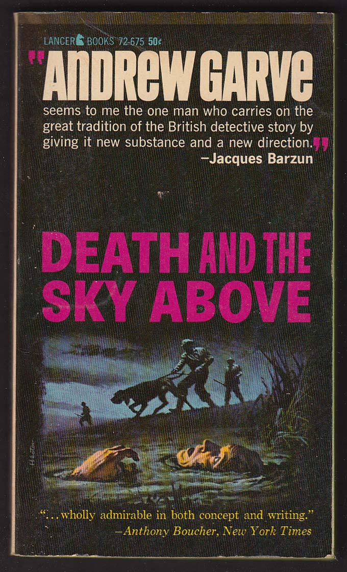 Andrew Garve: Death and the Sky Above pb 1963
