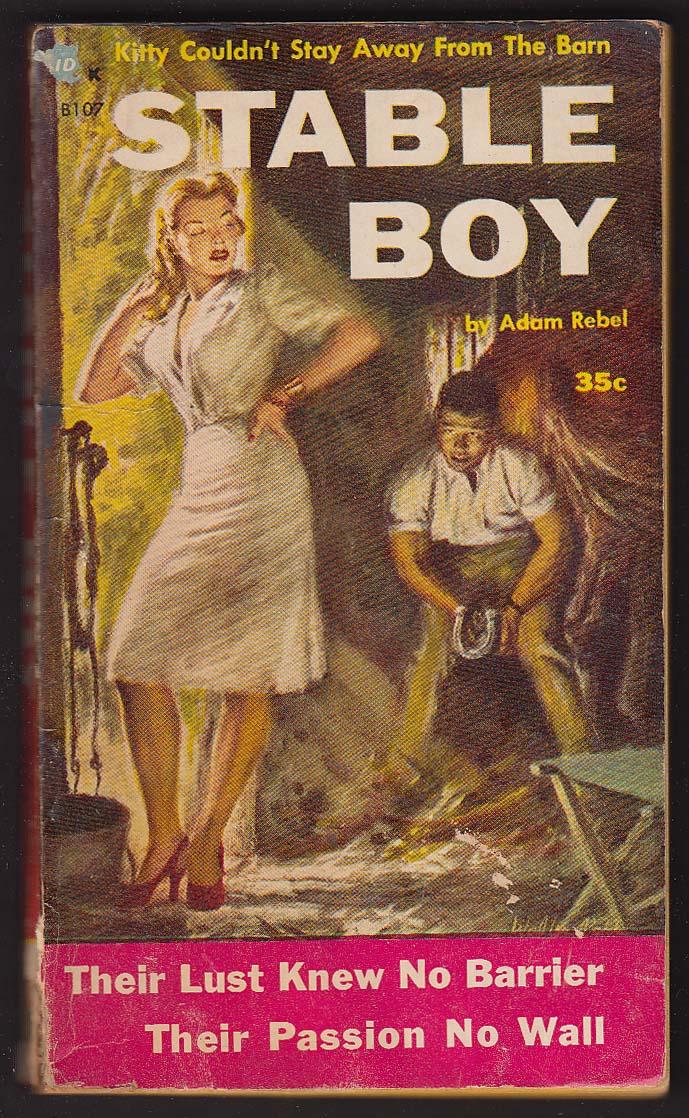 Adam Rebel: Stable Boy PBO 1st 1954 GGA