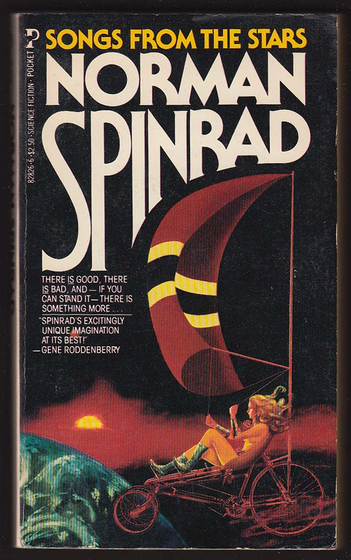 Image for Norman Spinrad: Songs From the Stars sci-fi GGA pb 1st 1981