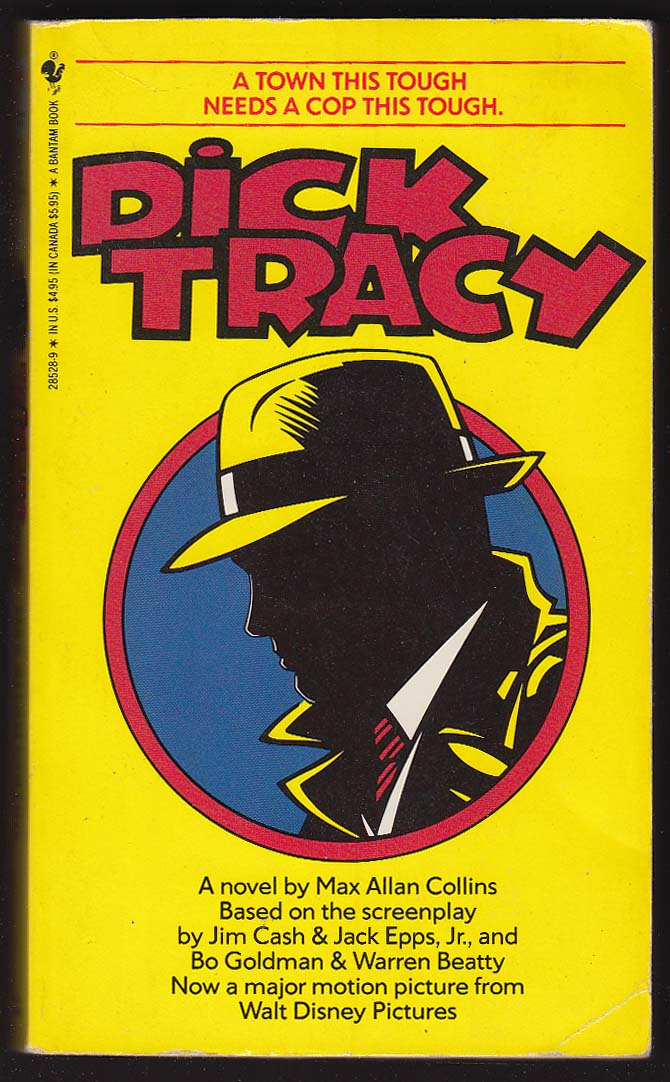 Image for Max Allan Collins: Dick Tracy movie tie-in PBO 1st 1990