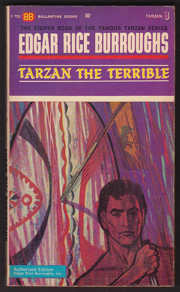 Image for Edgar Rice Burroughs: Tarzan the Terrible 1st pb ed 1963