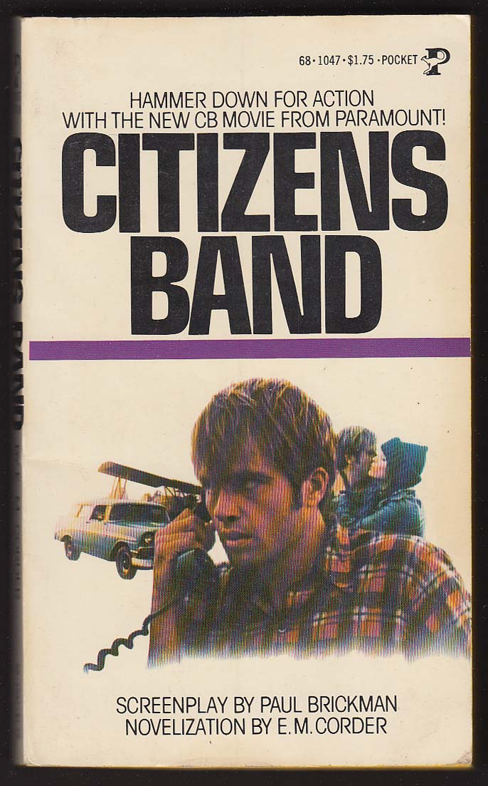 Image for E M Corder: Citizens Band movie tie-in 1st pb ed 1977