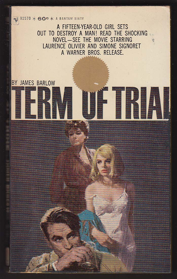 Image for James Barlow: Term of Trial movie tie-in pb 1963 GGA