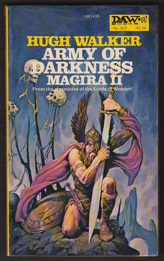 Image for Hugh Walker: Army of Darkness Magira II 1st pb ed 1979 fantasy
