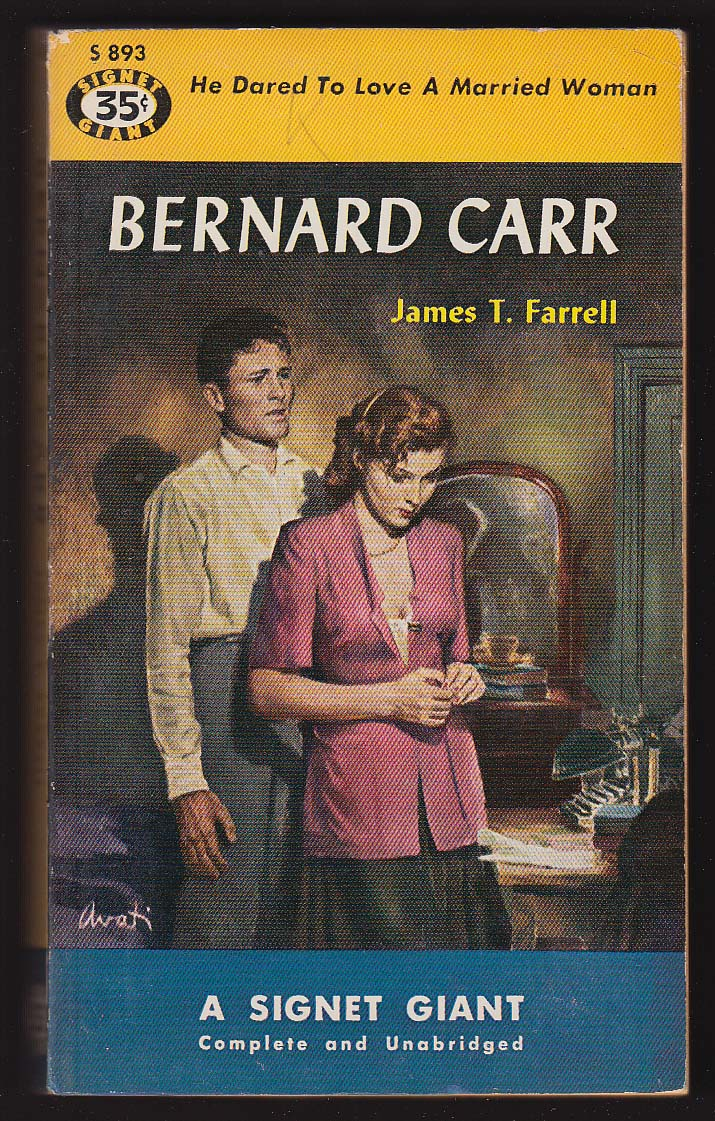 Image for James T Farrell: Bernard Carr 1st pb ed 1951 GGA