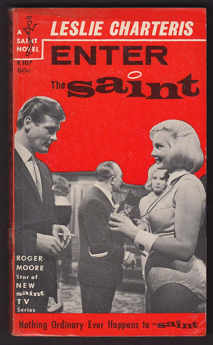 Image for Leslie Charteris: Enter the Saint TV tie-in pb Roger Moore