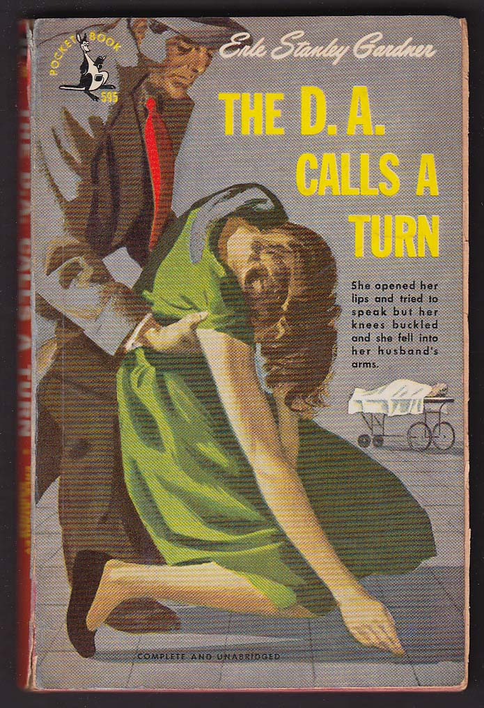 Image for Erle Stanley Gardner: The D.A. Calls a Turn pb 1948 GGA